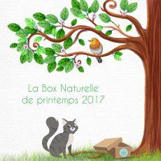 La Box Naturelle de printemps pour chat