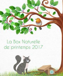 La Box Naturelle de printemps pour chat