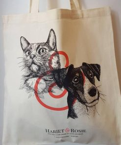 Tote bag Hariet&Rosie - Box Naturelle Collector pour chien
