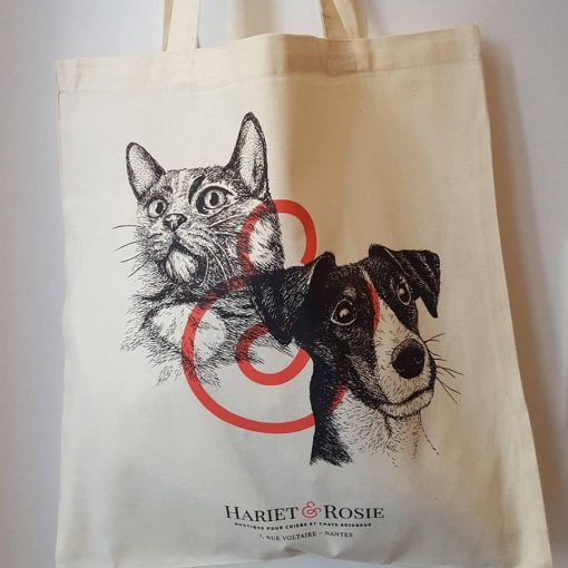 Tote bag Hariet&Rosie - Box Naturelle Collector pour chien