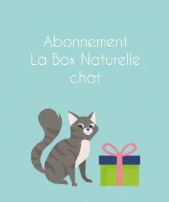 Abonnement La Box Naturelle pour chat