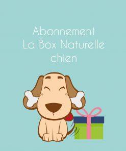 Abonnement La Box Naturelle pour chien