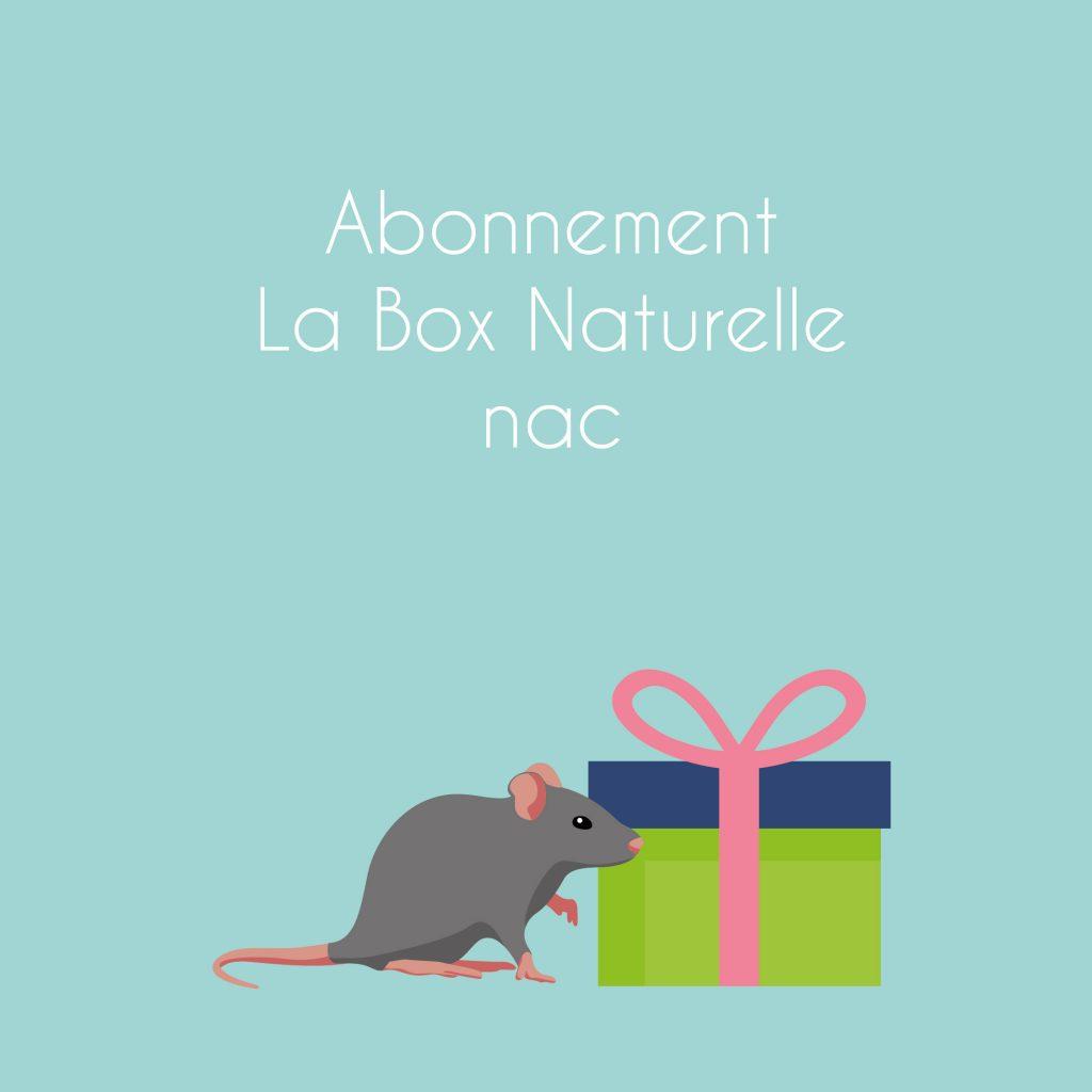 Abonnement La Box Naturelle pour nac