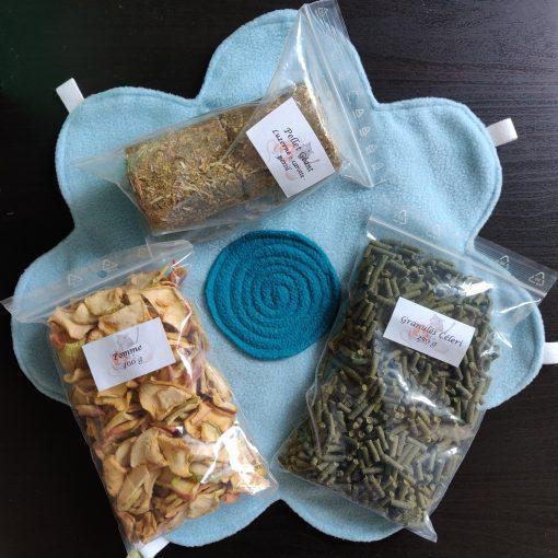 La Box Naturelle pour lapin, cochon d'Inde et chinchilla