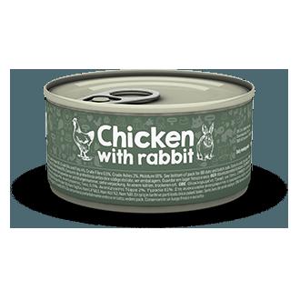 Pâtée au lapin et poulet - Naturea