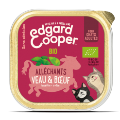 Pâtée veau et boeuf bio - La Box Naturelle