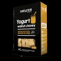 Biscuits sans céréales pour chien yaourt, noix et miel