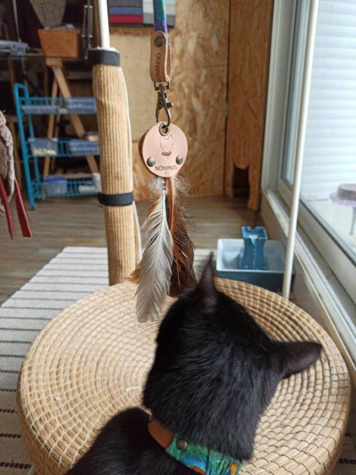 Plumoo - Jouet recyclé pour chat 3