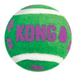 Kong - Balles de tennis pour chat avec clochette