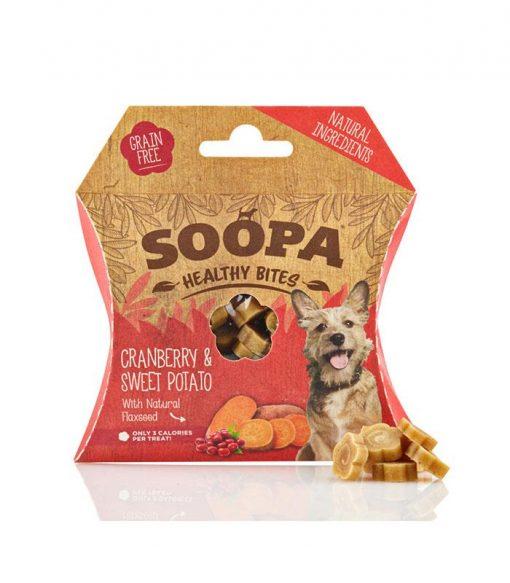 Soopa - Bouchées cranberry et patate douce