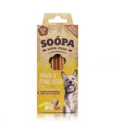 Soopa - Dental Stick banane et beurre de cacahuète