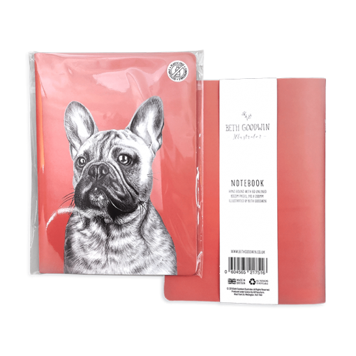 Carnet de notes qui a du chien