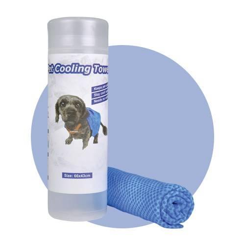 Serviette rafraîchissante pour chien et chat - La Box Naturelle1