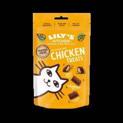 Friandises fourrées au poulet pour chat - Lily's Kitchen