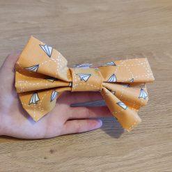 Noeud papillion chien - Avions en papier