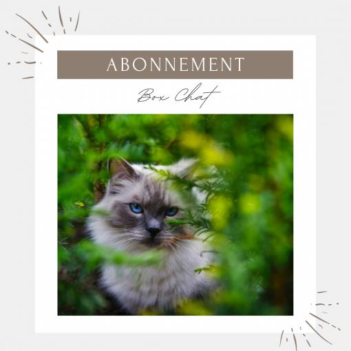 Abonnement box pour chat - La Box Naturelle