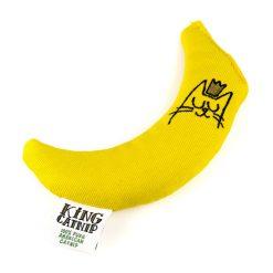 Jouet banane pour chat à l'herbe à chat