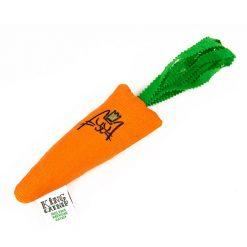 Jouet carotte pour chat à l'herbe à chat
