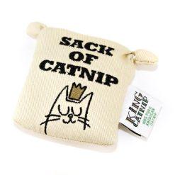 Jouet tote bag pour chat à l'herbe à chat