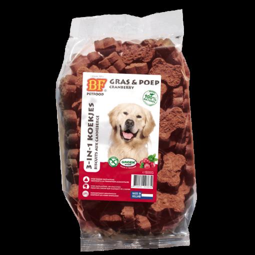 Biscuits aux cranberry pour chien