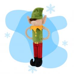 Elfe de Noël pour chien 1